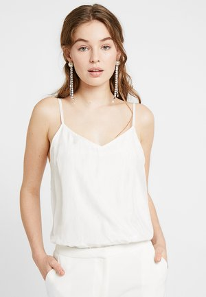 BRIDAL YASMILIA CAMMI STRAP - Top - star white