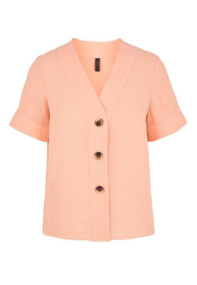 YASMARION - Bluzka - coral pink