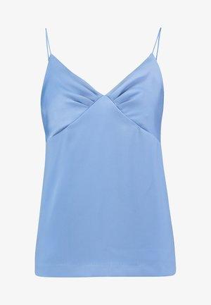 YASNORALA SINGLET - Top - bel air blue