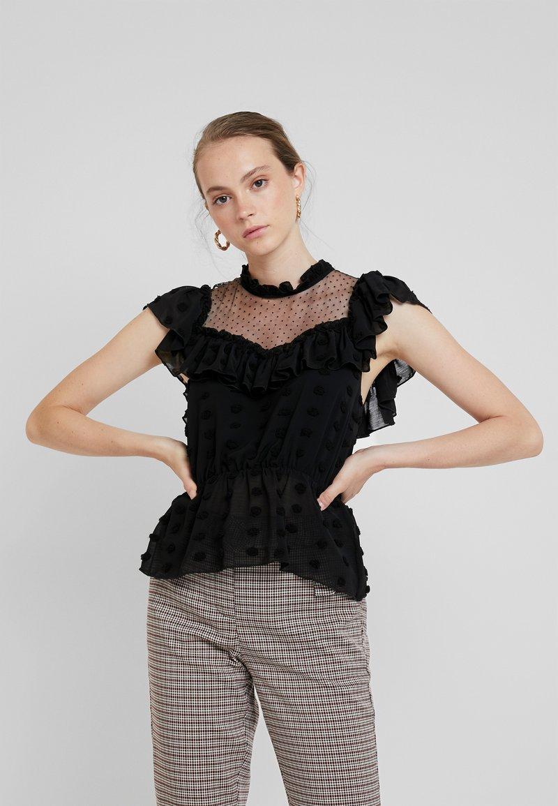 YAS - YASMONIA - Bluse - black