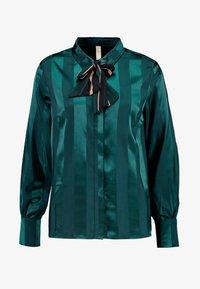 YAS - YASAUDREY LS BOW SHIRT  SHOW - Blusa - green gables - 3