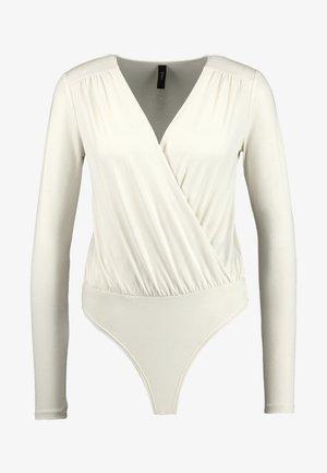 YASMADONNA BODYSTOCKING - Långärmad tröja - white swan