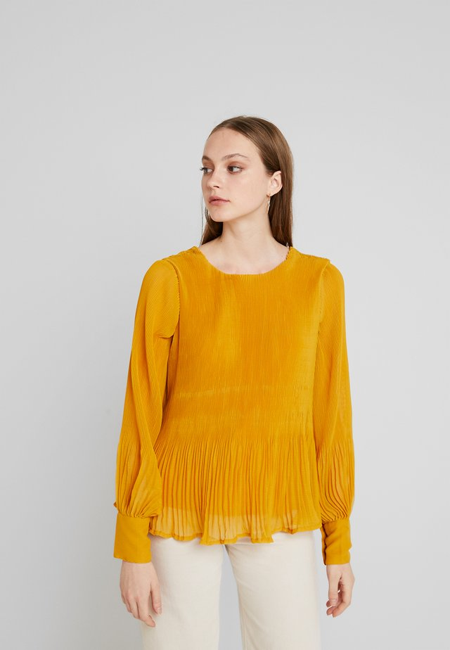 TOP - Blouse - golden yellow