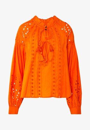YASRINA FEST - Blouse - russet orange