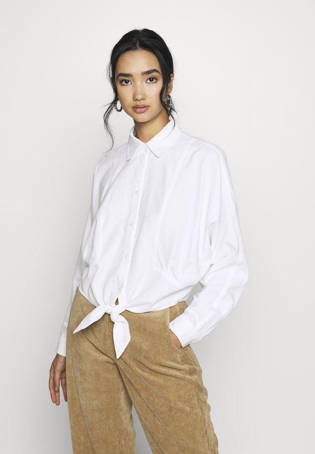 YASNAVA  - Button-down blouse - star white