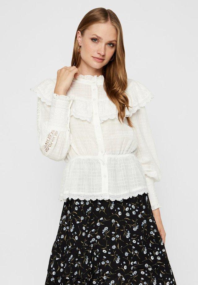 PRÄRIE - Button-down blouse - star white