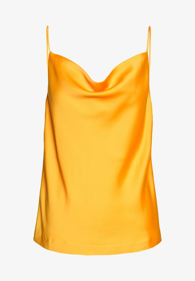 YASCADMI SINGLET - Blouse - yellow