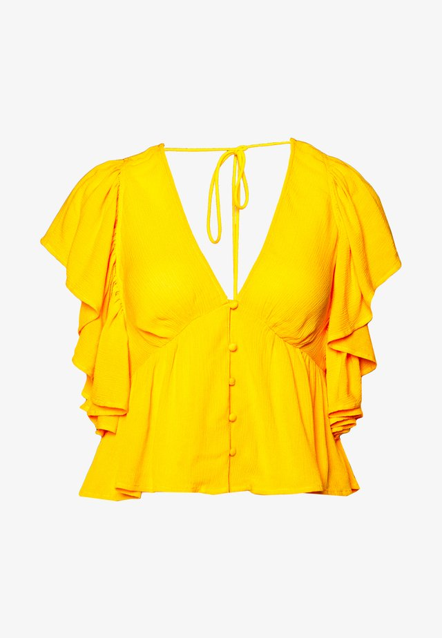 YASSAFFRON - Pusero - yellow