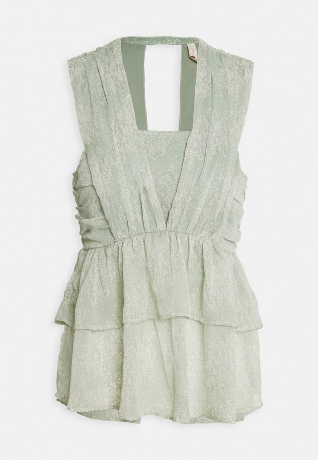 YASALICE SHOW - Bluse - misty jade