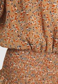 YAS - YASANEMONE  - Blouse - tawny brown/anemone - 2