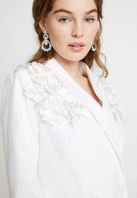 YAS - BRIDAL YASISSA - Krátký kabát - star white - 3
