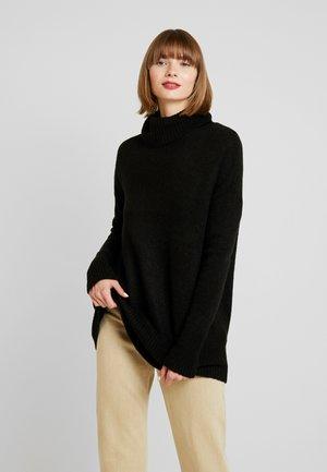 YASSAMILLE ROLLNECK - Jersey de punto - black