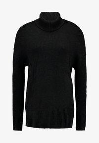 YAS - YASSAMILLE ROLLNECK - Pullover - black - 3