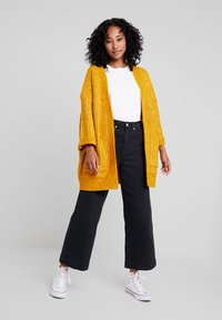 YAS - YASSUNDAY CARDIGAN - Chaqueta de punto - golden yellow - 1