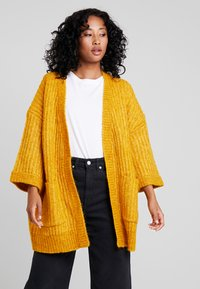YAS - YASSUNDAY CARDIGAN - Chaqueta de punto - golden yellow - 0
