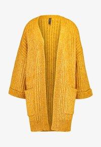 YAS - YASSUNDAY CARDIGAN - Cardigan - golden yellow - 3