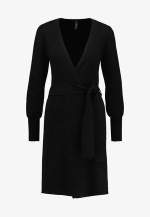 YASMORTON CARDIGAN - Vest - black