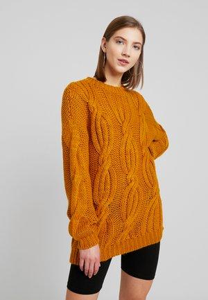 YASELENA - Svetr - buckthorn brown