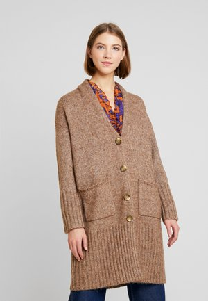 YASHARVEY LONG CARDIGAN - Kardigan - almondine