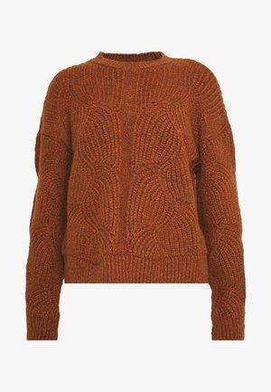 YASDALIA - Pullover - bombay brown