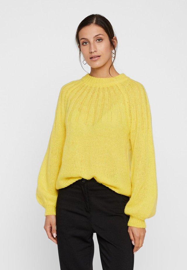 Trui - vibrant yellow