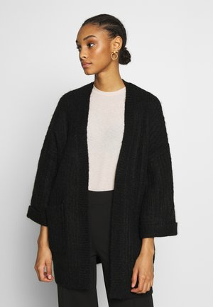 YASSUNDAY CARDIGAN - Kardigan - black