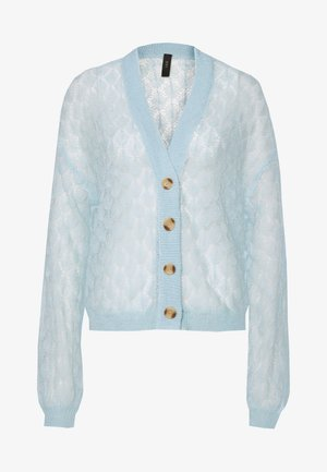 YASECCO CARDIGAN - Vest - cool blue
