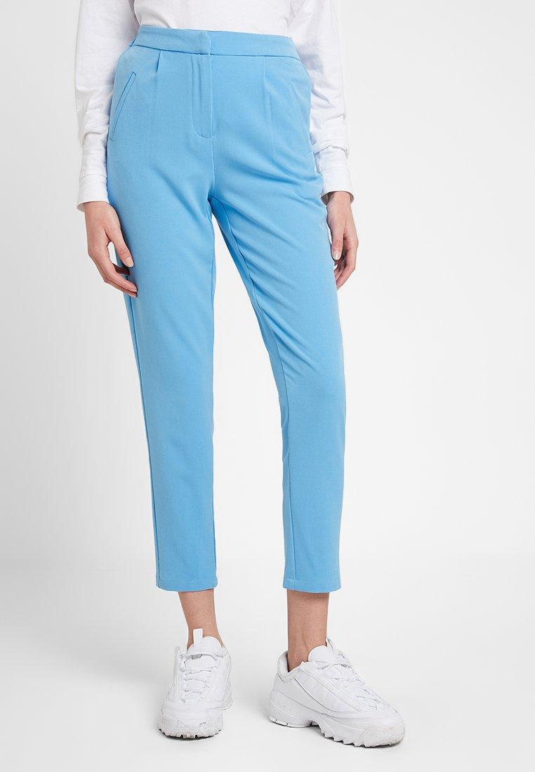 YAS - YASCLADY SPRING CROPPED PANT - Stoffhose - alaskan blue