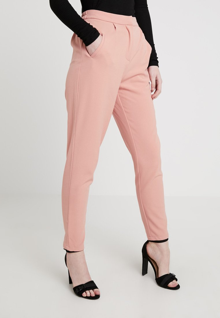 YAS - YASCLADY SPRING CROPPED PANT - Trousers - cameo brown