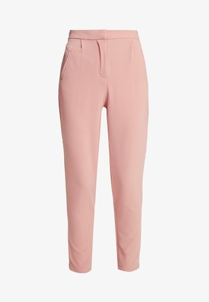 YASCLADY SPRING CROPPED PANT - Pantalon classique - cameo brown