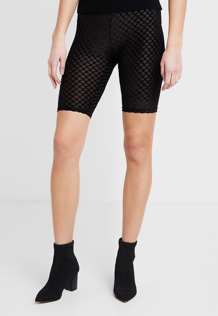 YAS - YASTIGHTS FLOCK CYCLING - Shorts - black