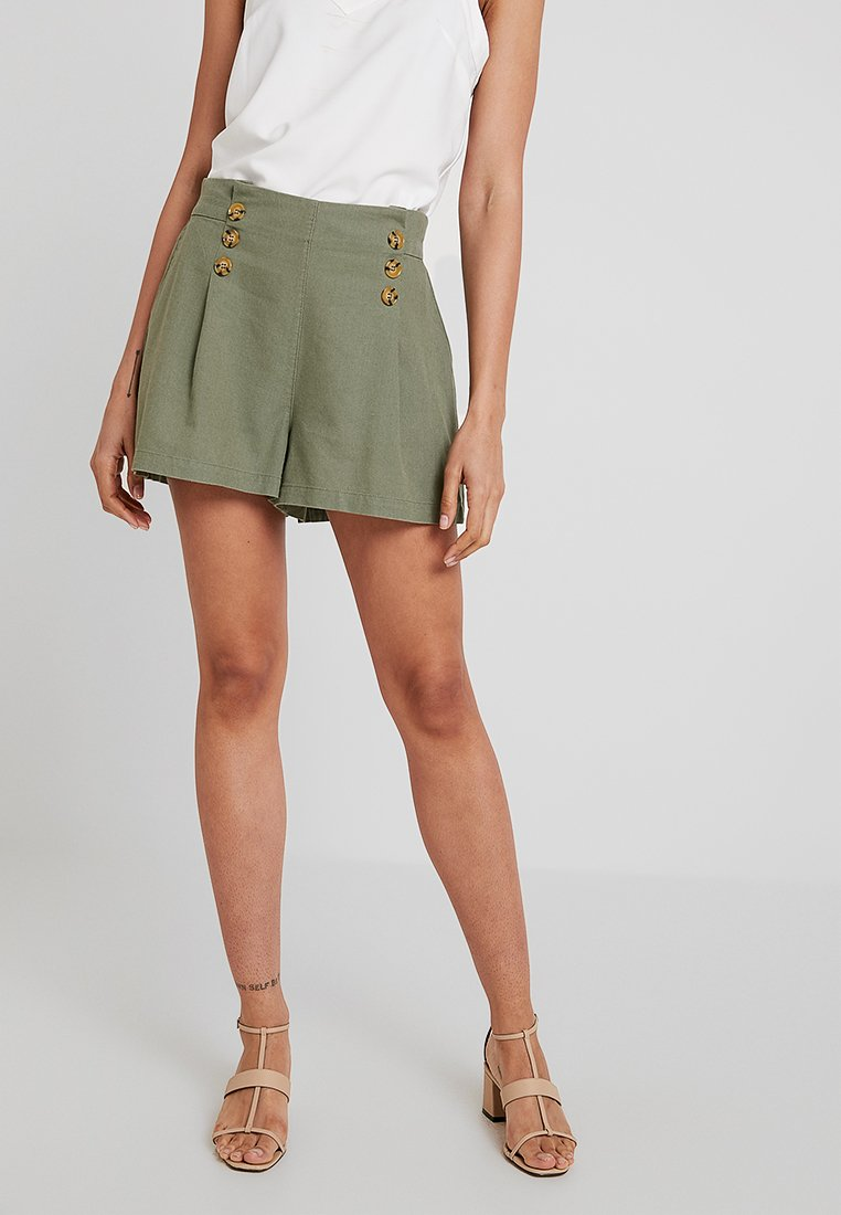 YAS - YASDATTO ICONS - Shorts - deep lichen green