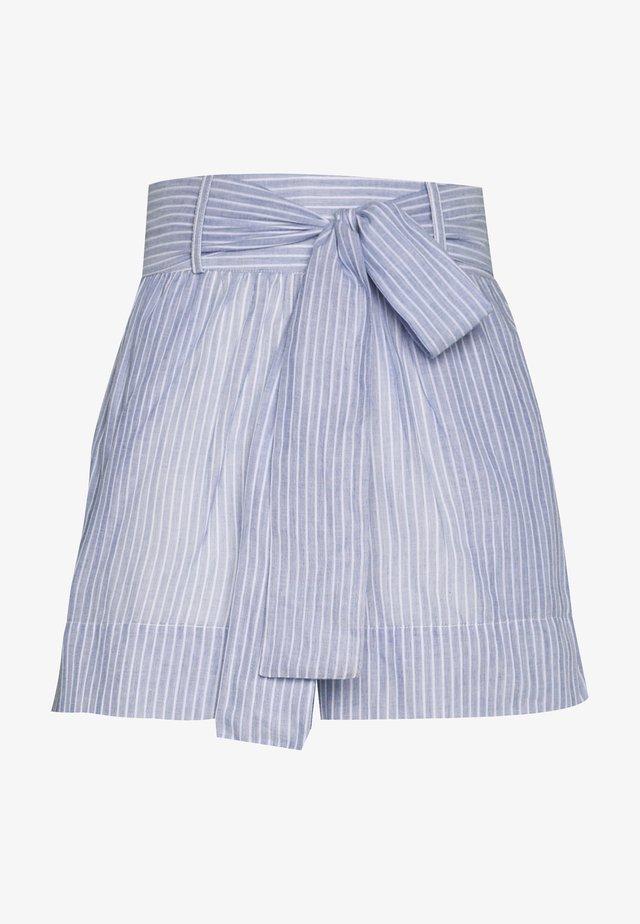 YASCLOUD ICONS - Shorts - dark denim/star white