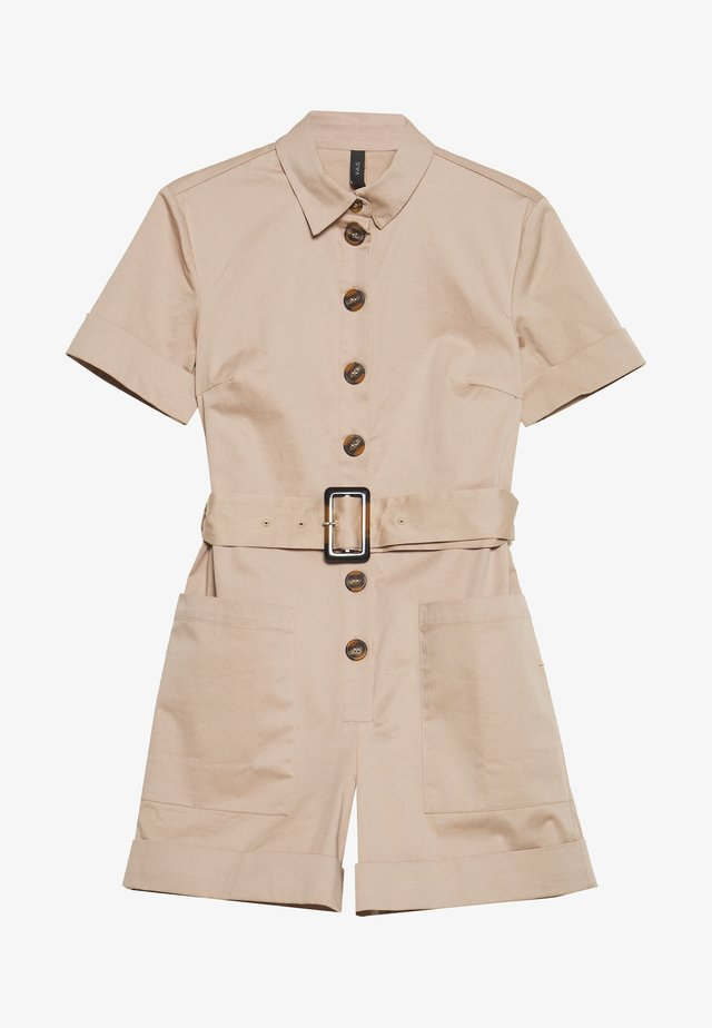 YASTALISA PLAYSUIT - Jumpsuit - light taupe