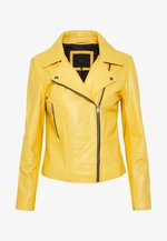 YASSOPHIE COLOR JACKET - Kožená bunda - misted yellow