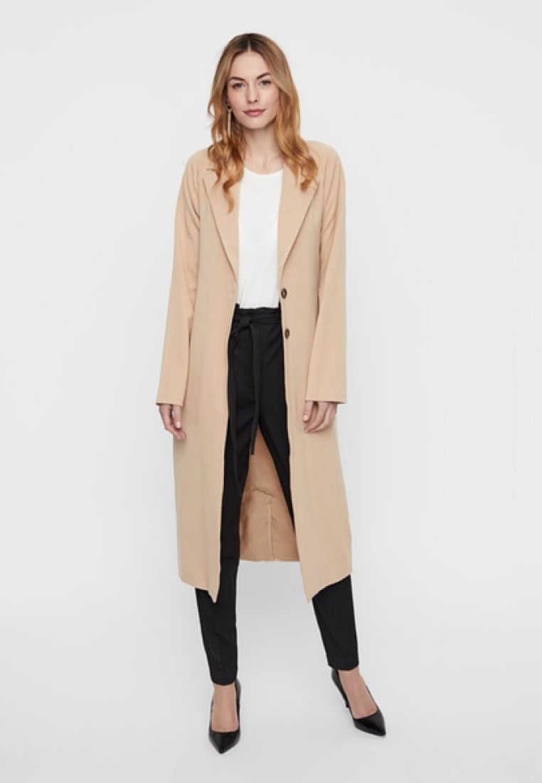 YAS - Trenchcoats - beige