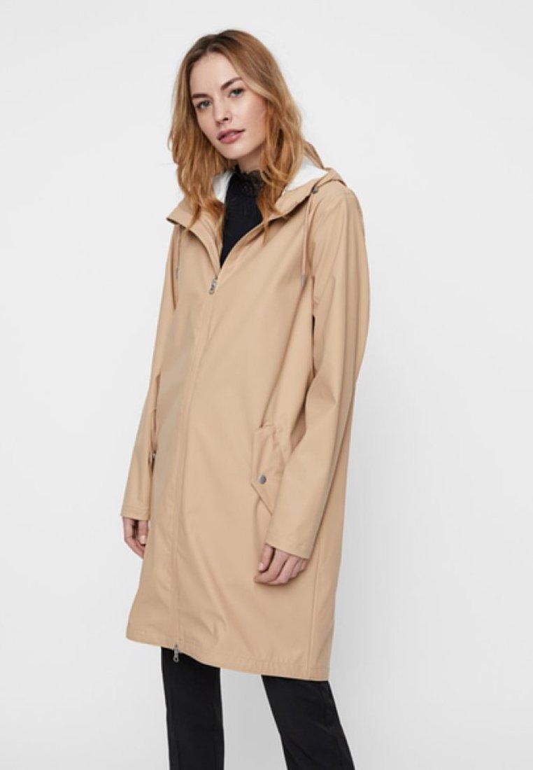 YAS - Regenjacke / wasserabweisende Jacke - beige