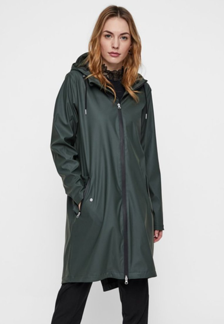 YAS - Waterproof jacket - deep forest