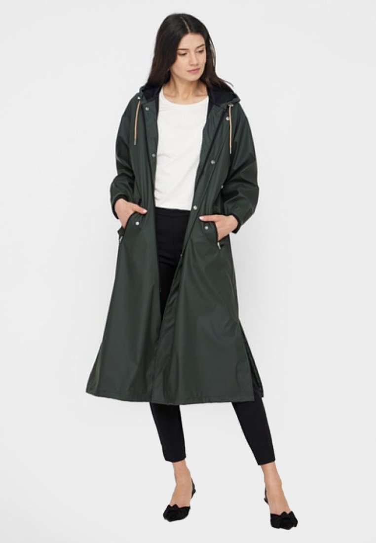 YAS - Parka - dark green