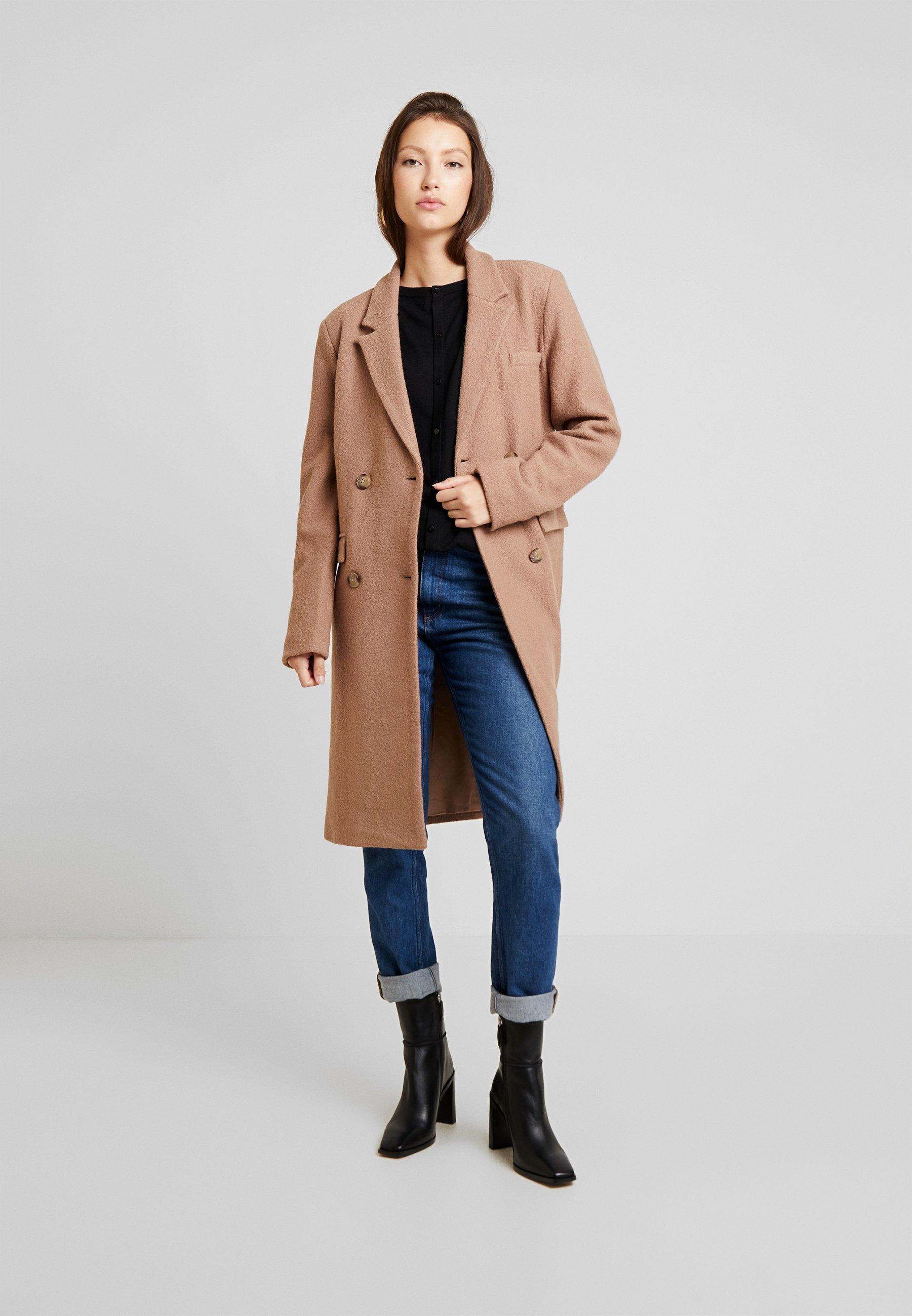 Yas Yasalmond Coat - Manteau Classique Almondine