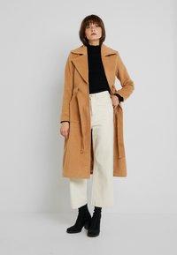 YAS - YASLEANN COAT - Zimní kabát - tan - 1