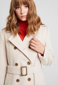 YAS - YASMILDA COAT - Zimní kabát - creme - 3