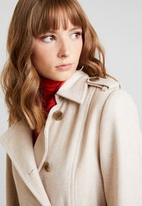 YAS - YASMILDA COAT - Zimní kabát - creme - 5