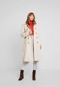 YAS - YASMILDA COAT - Zimní kabát - creme - 0