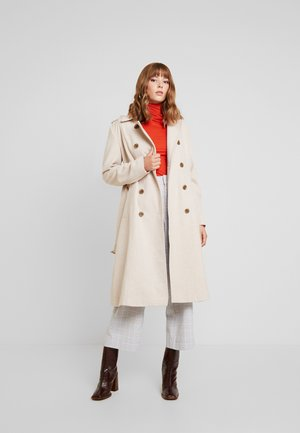 YASMILDA COAT - Classic coat - creme
