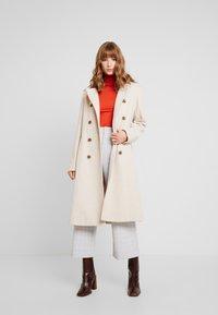 YAS - YASMILDA COAT - Zimní kabát - creme - 1