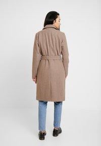 YAS - YASESMEE COAT - Classic coat - camel - 2