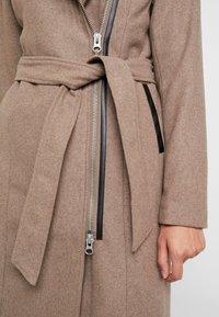 YAS - YASESMEE COAT - Zimní kabát - camel - 5