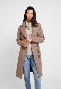 YAS - YASESMEE COAT - Classic coat - camel - 0