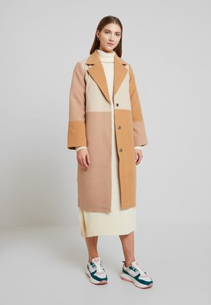 YASSIBEL COAT - Kappa / rock - caramel café/tan/mop